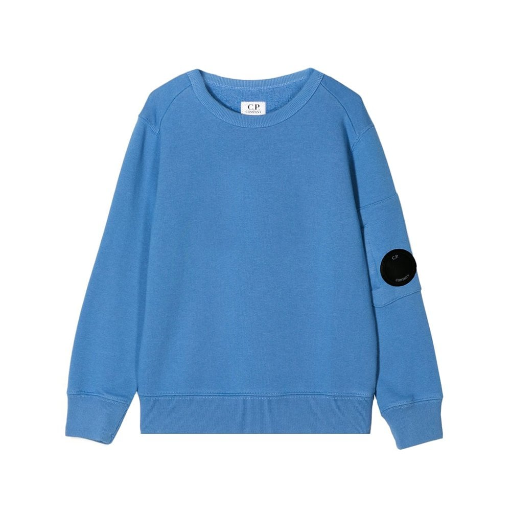 C.p. Company C.P Company Crew Neck Sweatshirt  Colour: BLUE, Size: 14 YEARS
