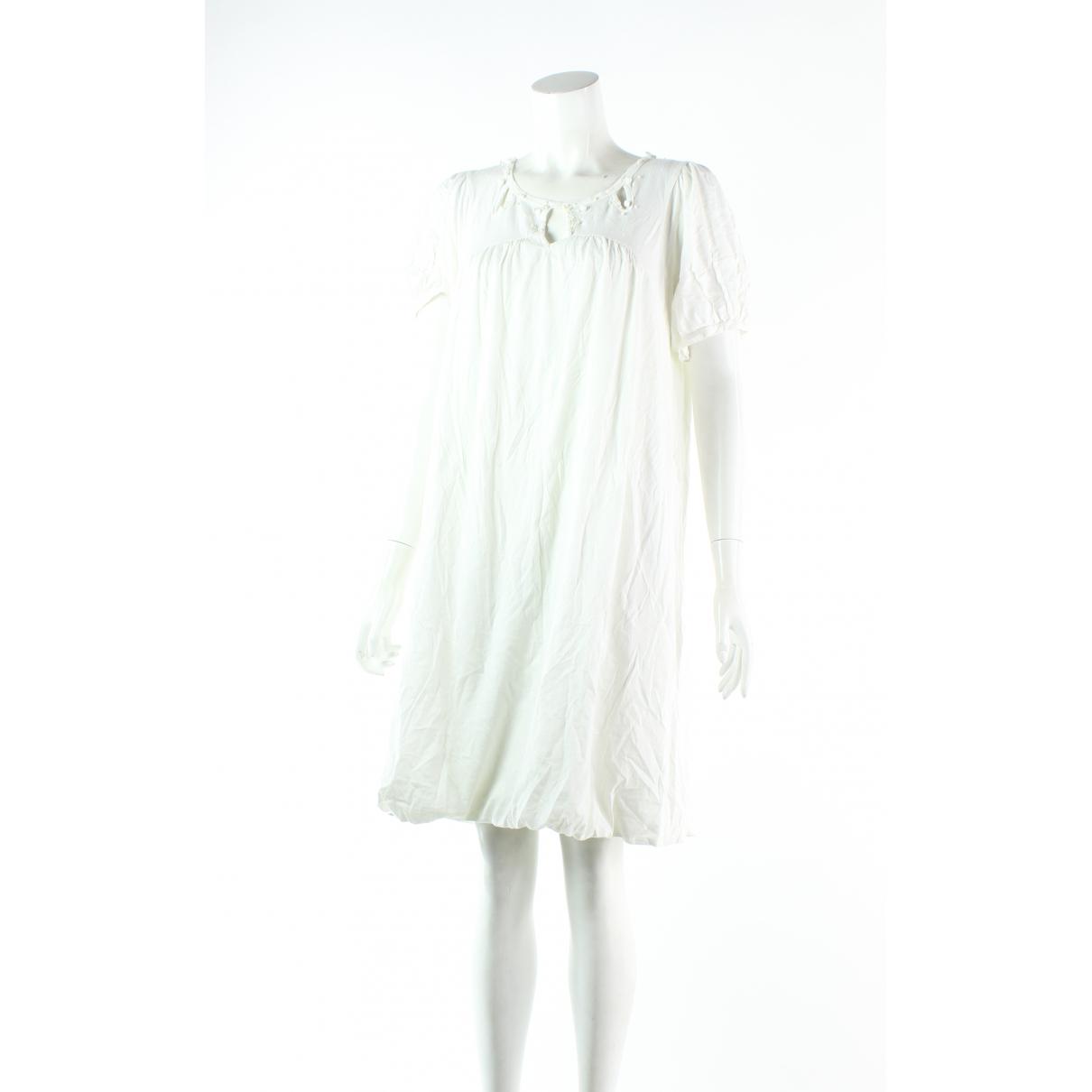 Tsumori Chisato - Robe   pour femme en coton - blanc