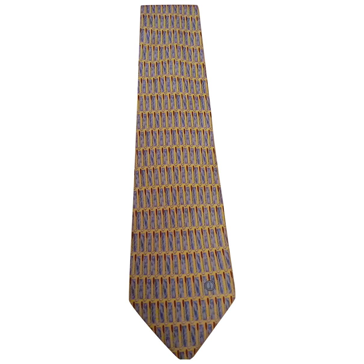 Alfred Dunhill \N Krawatten in  Bunt Seide