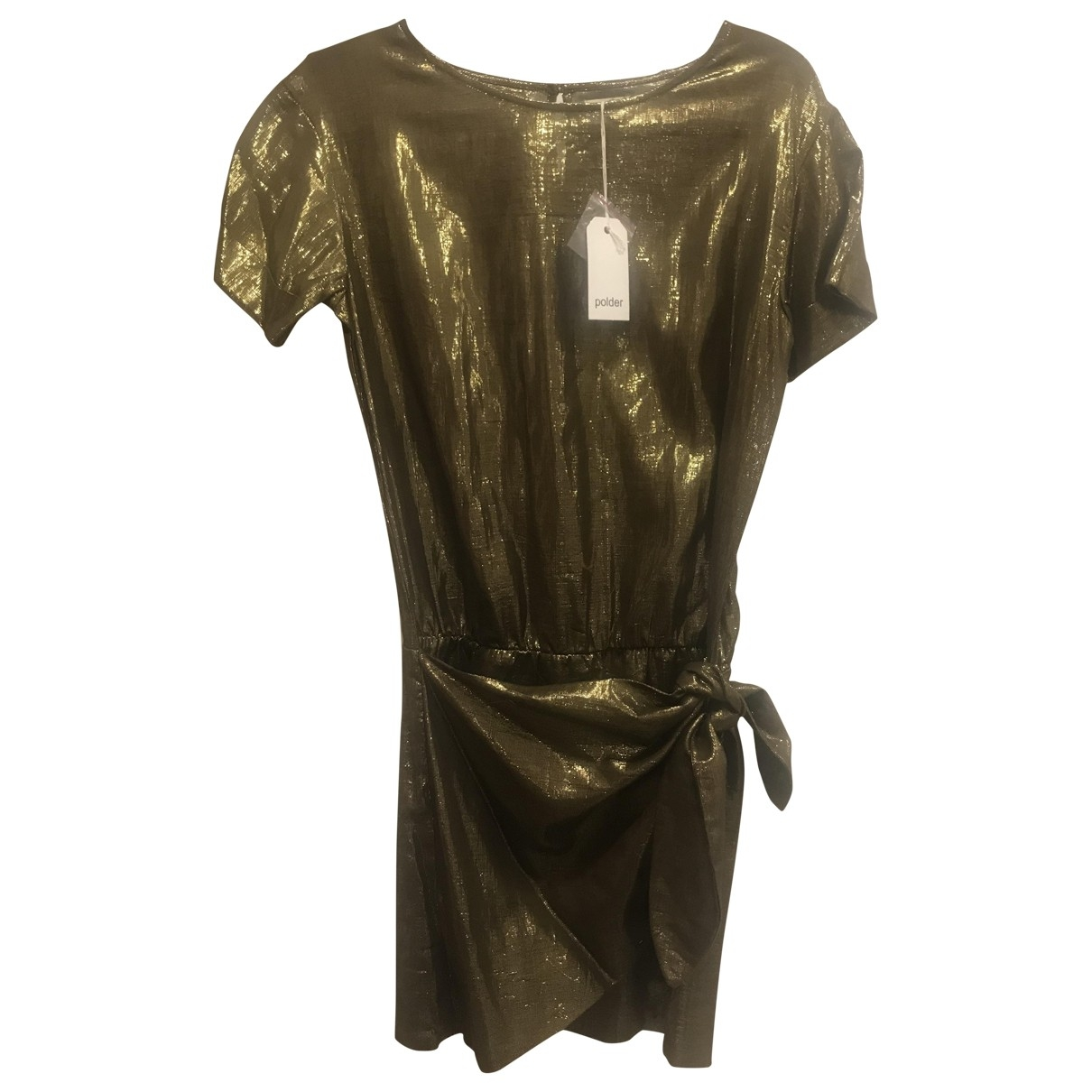 Polder - Robe   pour femme - dore