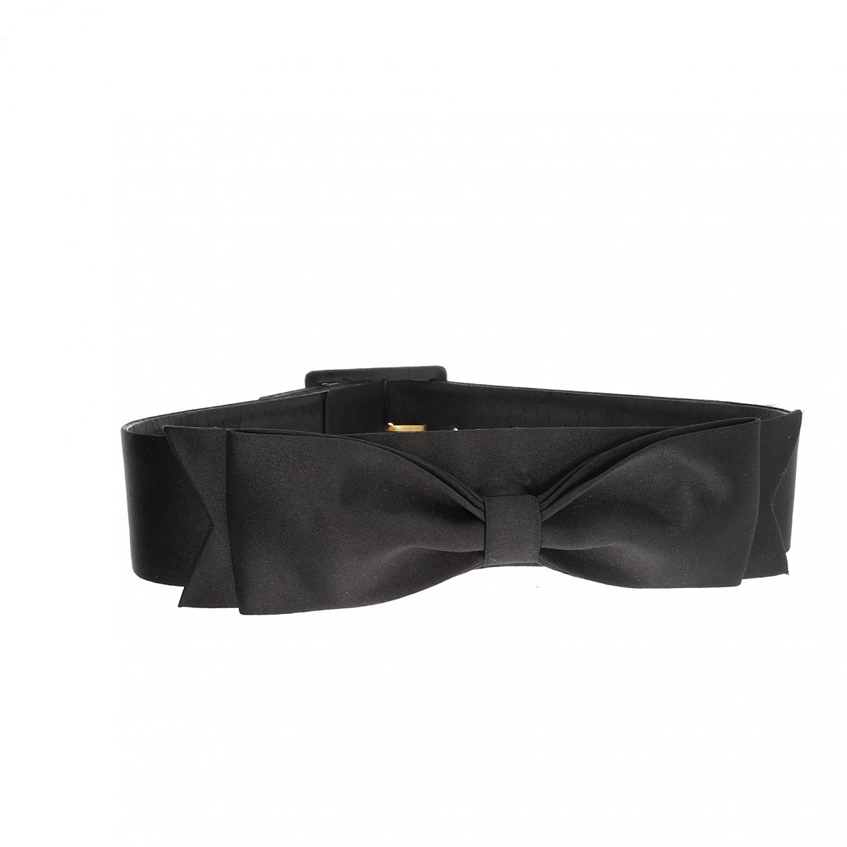 Chanel \N Black Cloth belt for Women 70 cm