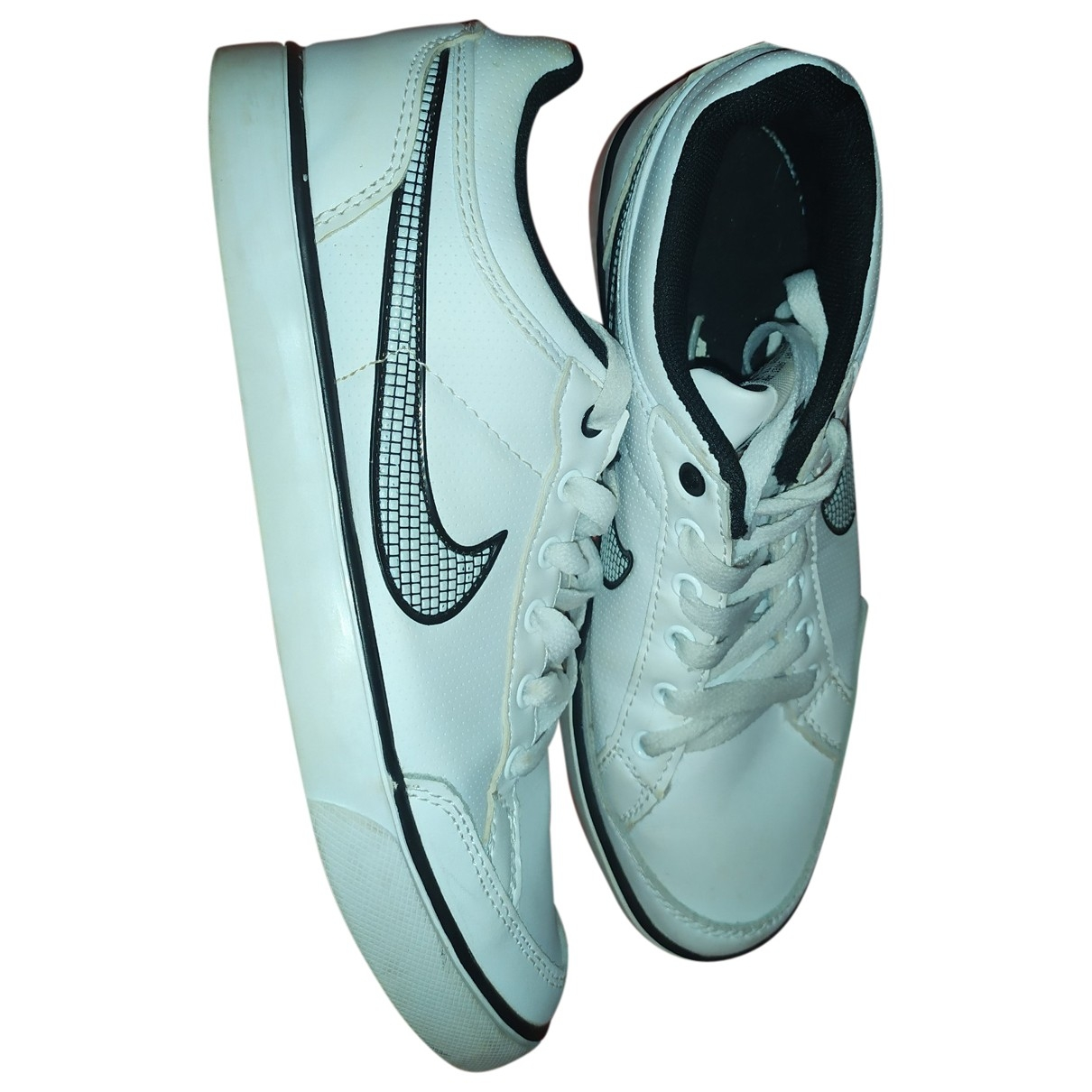 Nike SB Stefan Janoski White Leather Trainers for Women 37 EU