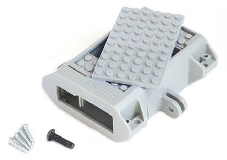 Smarticase SmartiPi Series For Use With GoPro, Raspberry Pi 2, Raspberry Pi 3, Raspberry Pi B+, Grey Raspberry Pi Case