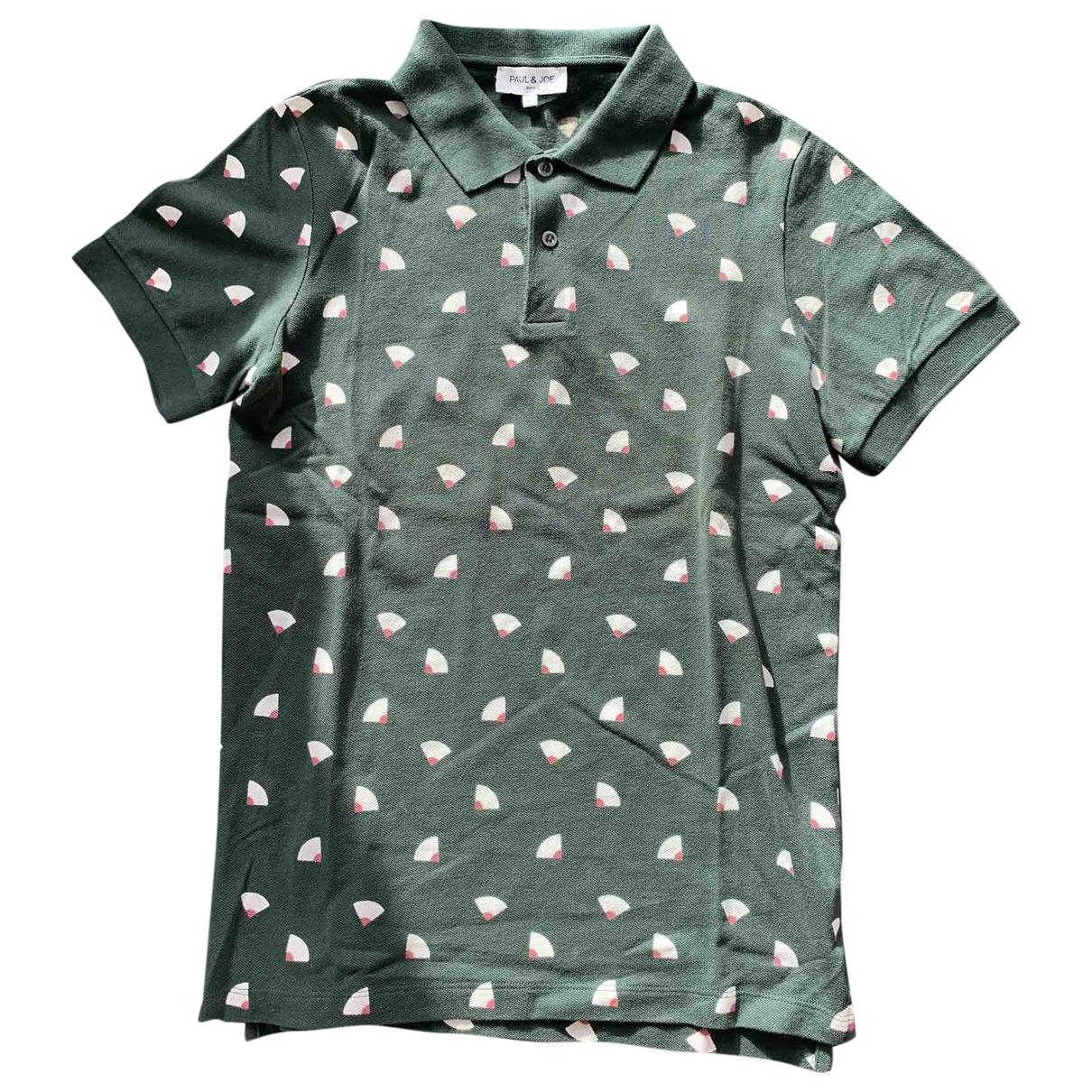 Paul & Joe - Polos   pour homme en coton - vert