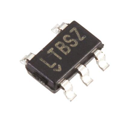 Analog Devices LTC6101HVACS5#TRMPBF , Current Sense Amplifier Single Unidirectional 5-Pin TSOT-23