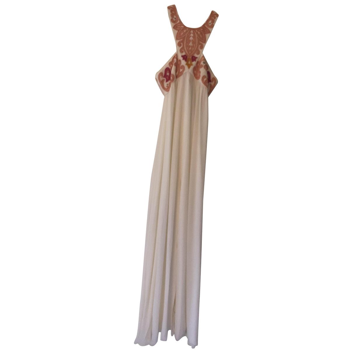 Emilio Pucci - Robe   pour femme en coton - elasthane - blanc