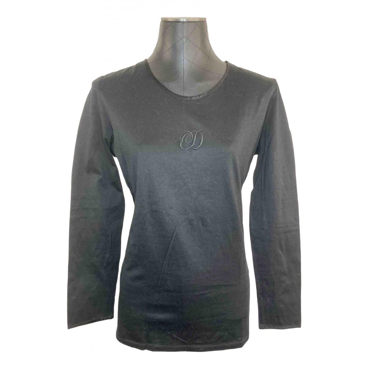 Dior \N Black Cotton  top for Women L International
