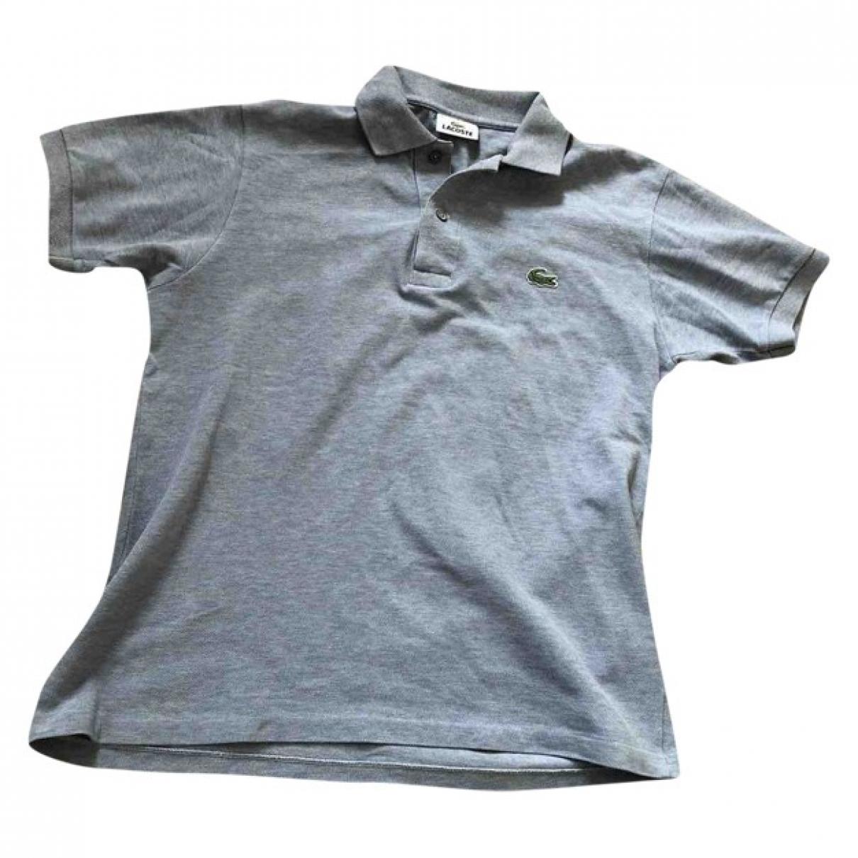 Lacoste \N Poloshirts in  Grau Baumwolle