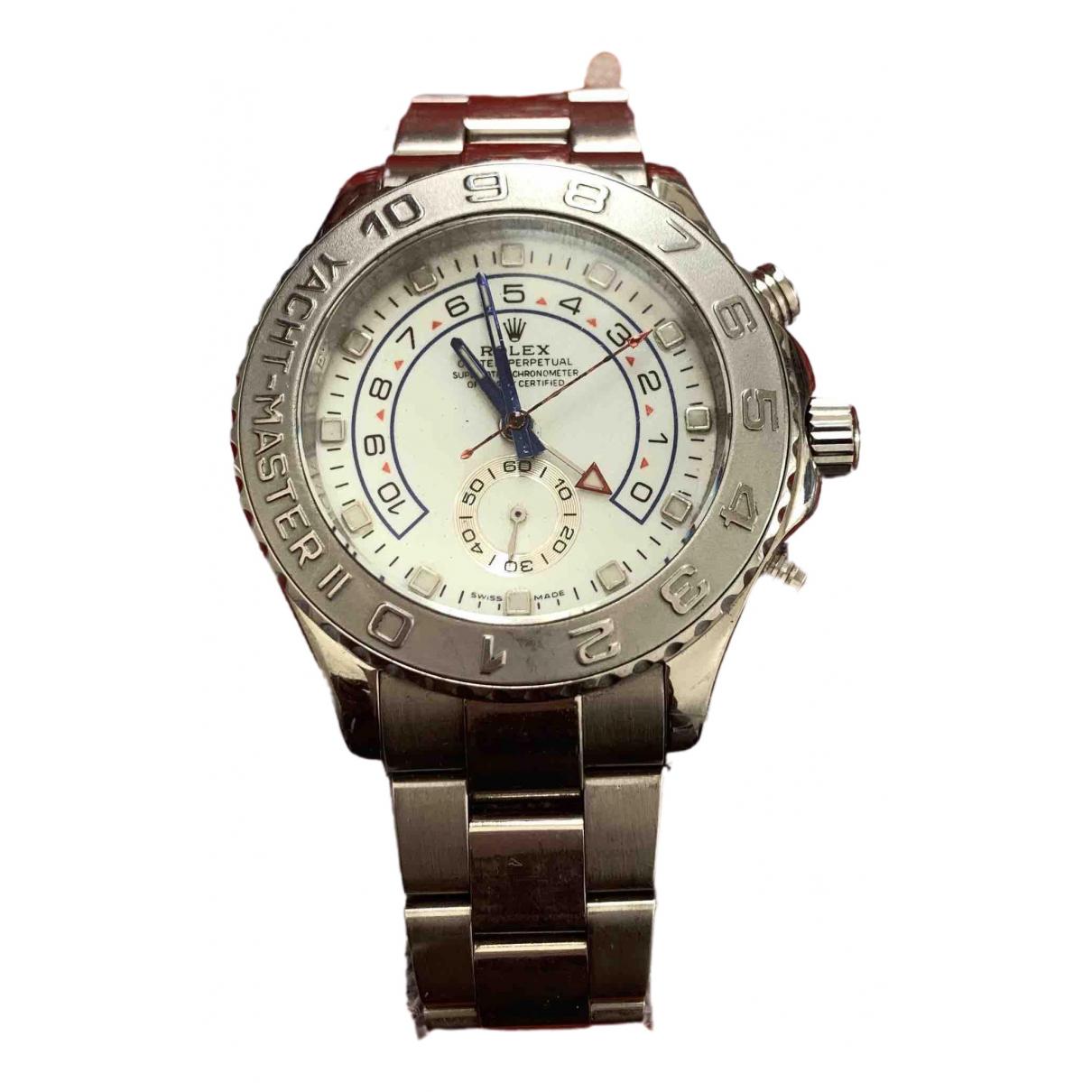 Rolex Yacht-Master ll White White gold watch for Men \N