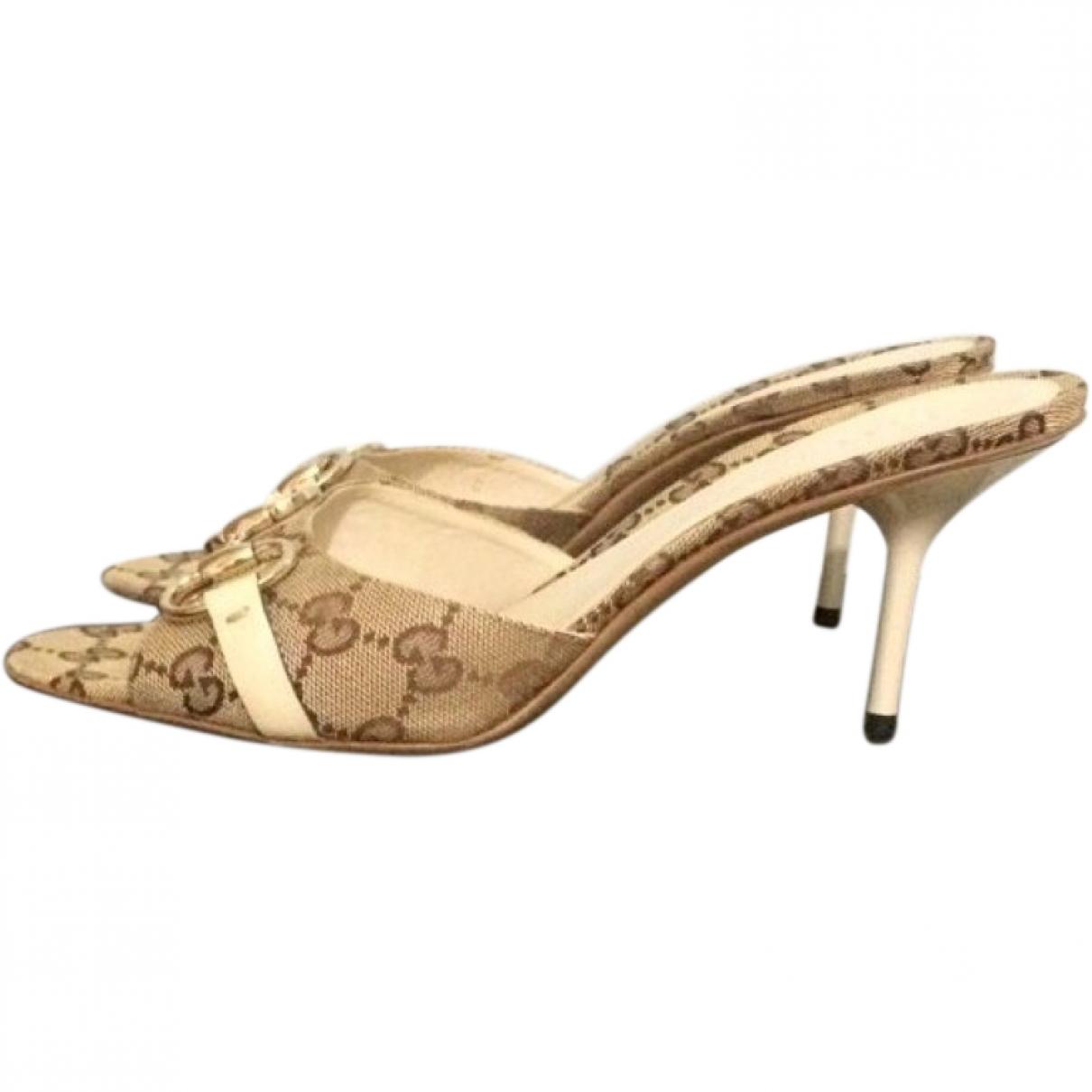 Gucci \N Multicolour Cloth Sandals for Women 39 EU