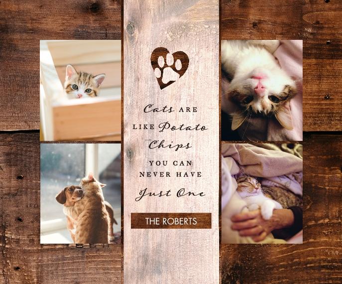 Pet Canvas Print, 16x20, Home Décor -The Good Kitty
