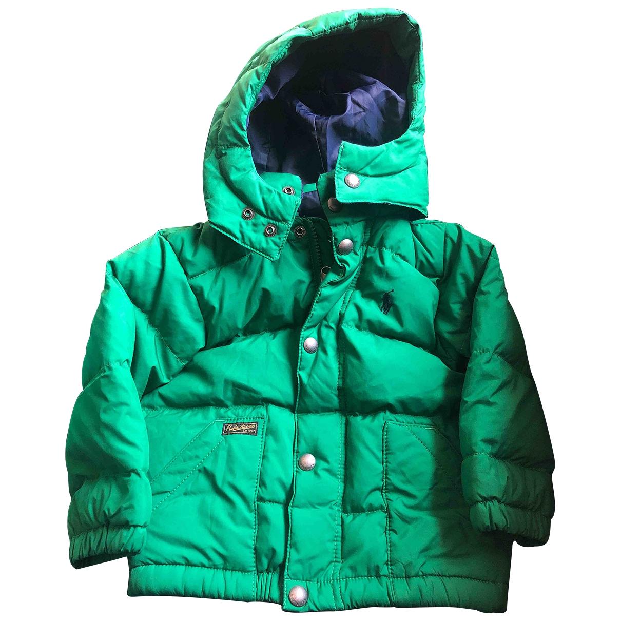 Polo Ralph Lauren - Blousons.Manteaux   pour enfant - vert