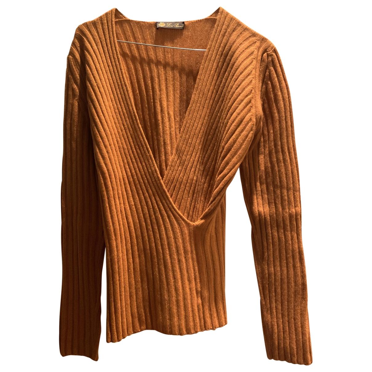 Loro Piana \N Orange Cashmere Knitwear for Women 42 IT