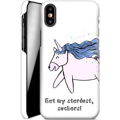 Apple iPhone X Smartphone Huelle - Eat my stardust von caseable Designs