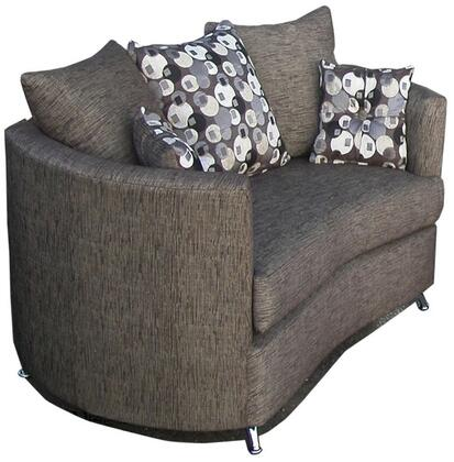 Paris Collection GDN-CA-18 72 Loveseat with Removable Cushions  Made In USA  High-Resilience Convoluted Foam Filled  Solid Pine Wood Construction
