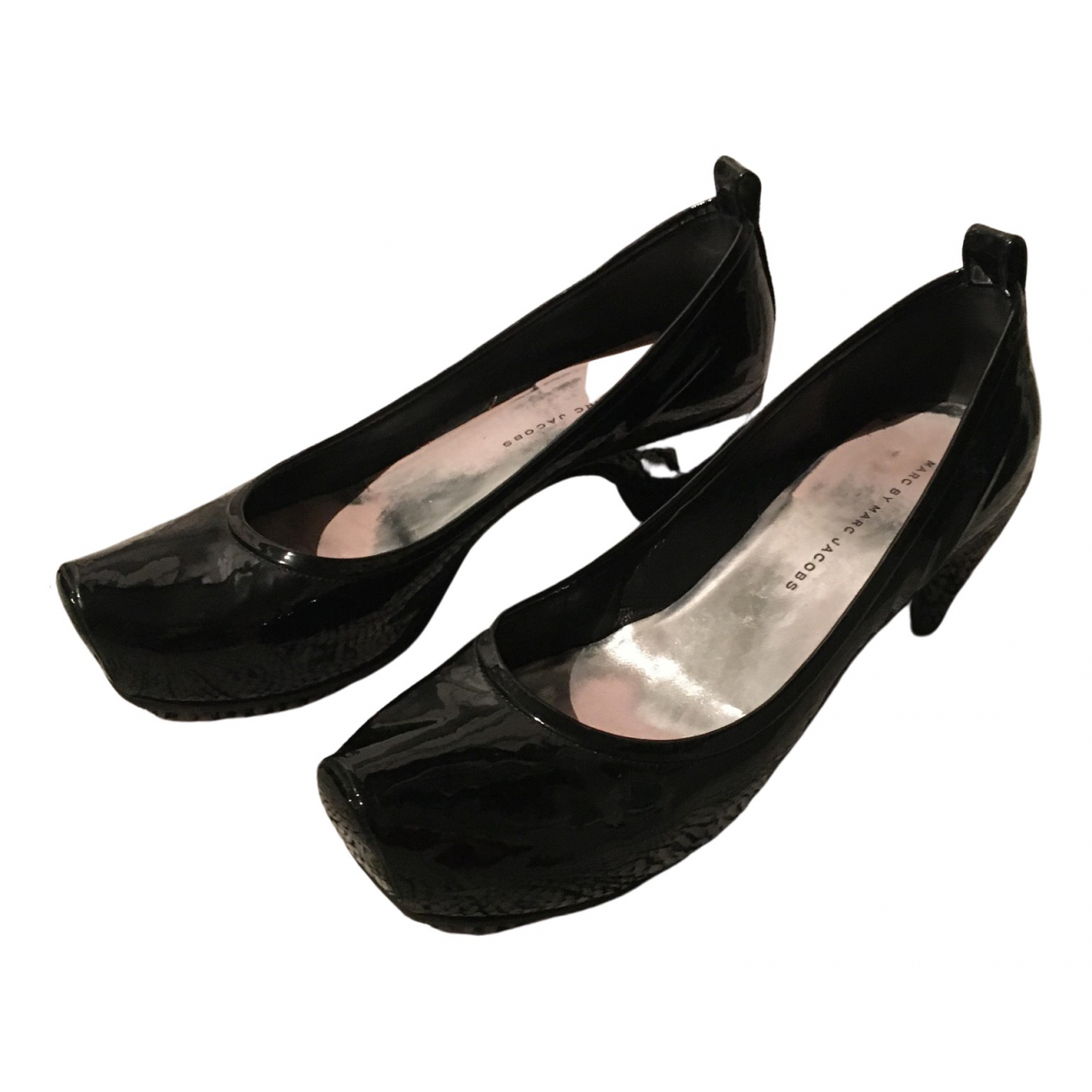 Marc By Marc Jacobs \N Black Patent leather Heels for Women 39 EU
