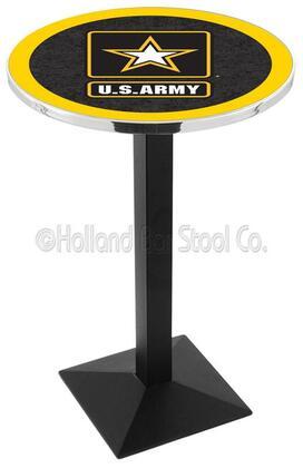 L217B42Army 42 Black Wrinkle U.S. Army Logo Pub