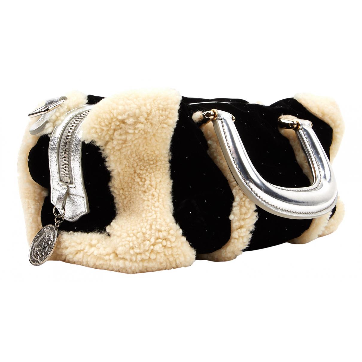 Fendi \N Black Velvet handbag for Women \N
