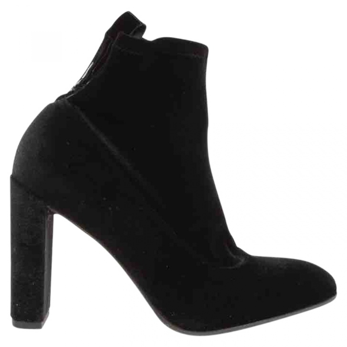 Aeyde \N Black Leather Ankle boots for Women 38.5 EU
