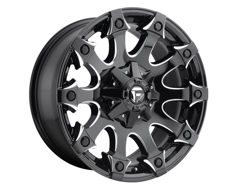 Fuel D578 Battle Axe Wheel 17x9 5x5.5/150 -12 Gloss Black Milled