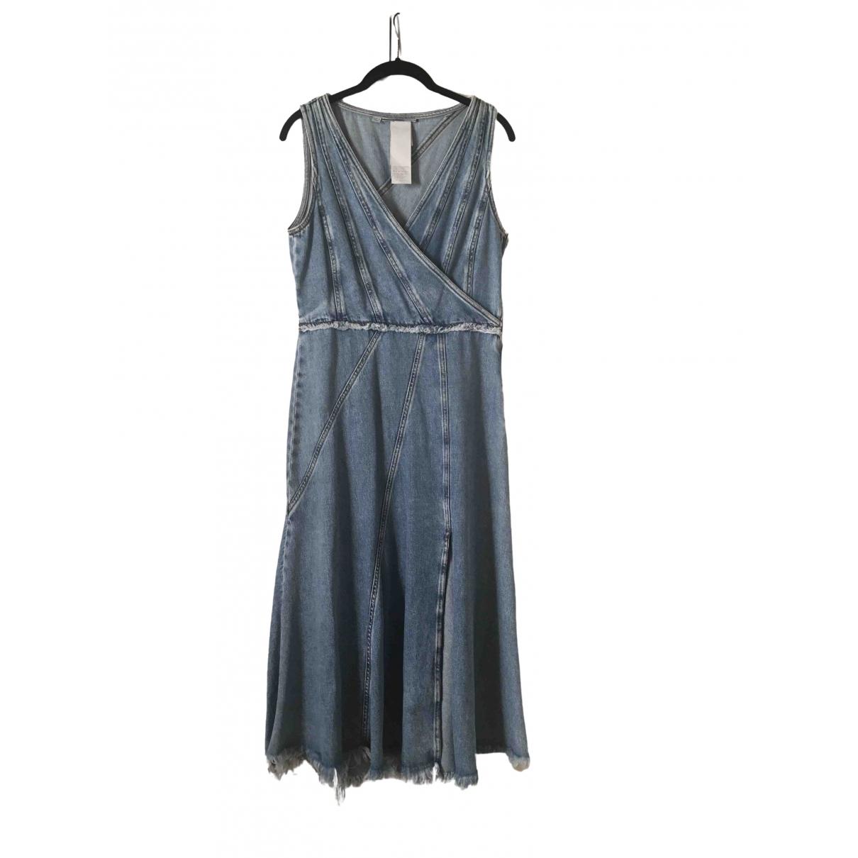 Marella \N Kleid in  Blau Denim - Jeans