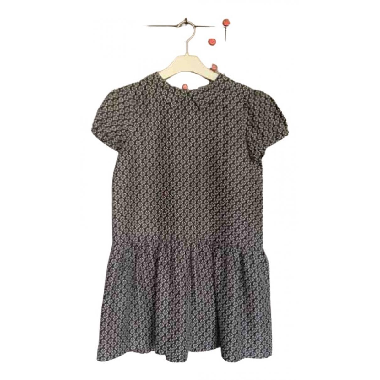 Bonpoint \N Kleid in  Schwarz Seide