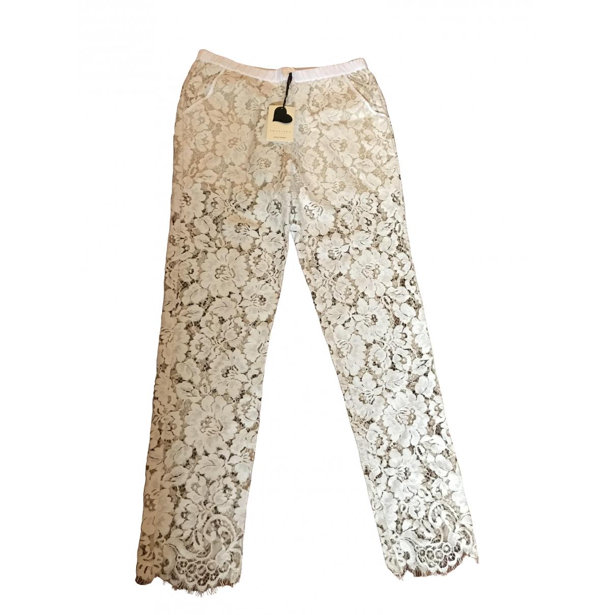 Twin Set \N Beige Trousers for Women S International