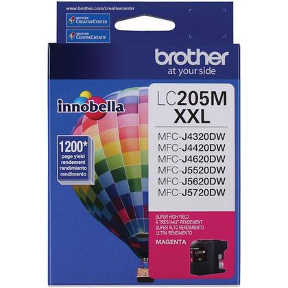Brother LC205M Original Magenta Ink Cartridge Extra High Yield