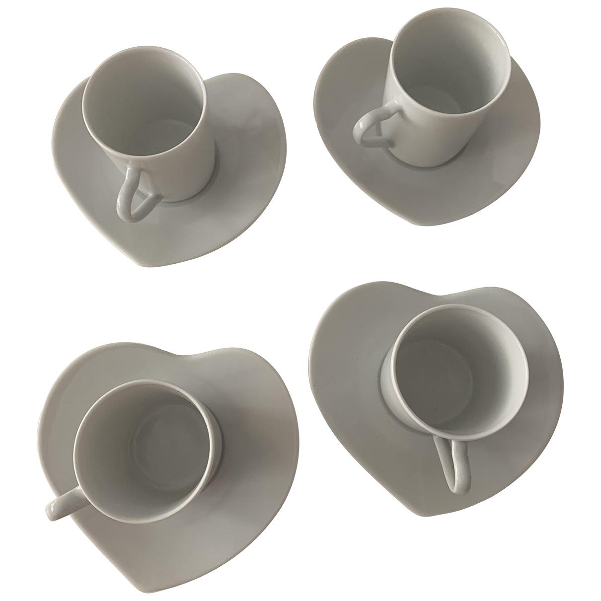 Juego de te/cafe de Porcelana Yves Saint Laurent