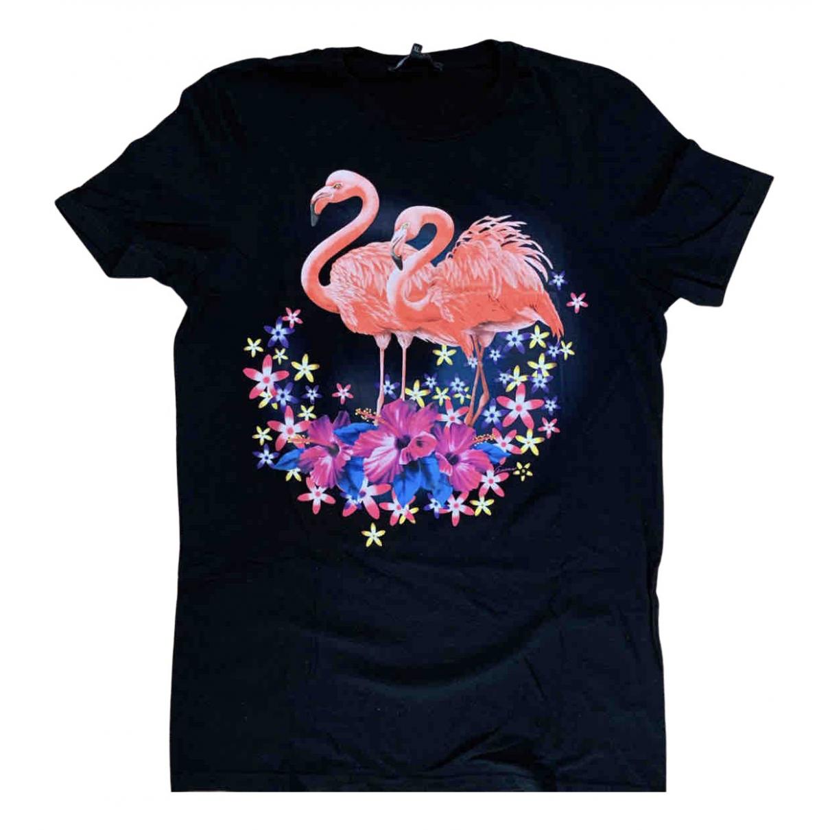 Gucci \N T-Shirts in  Schwarz Baumwolle