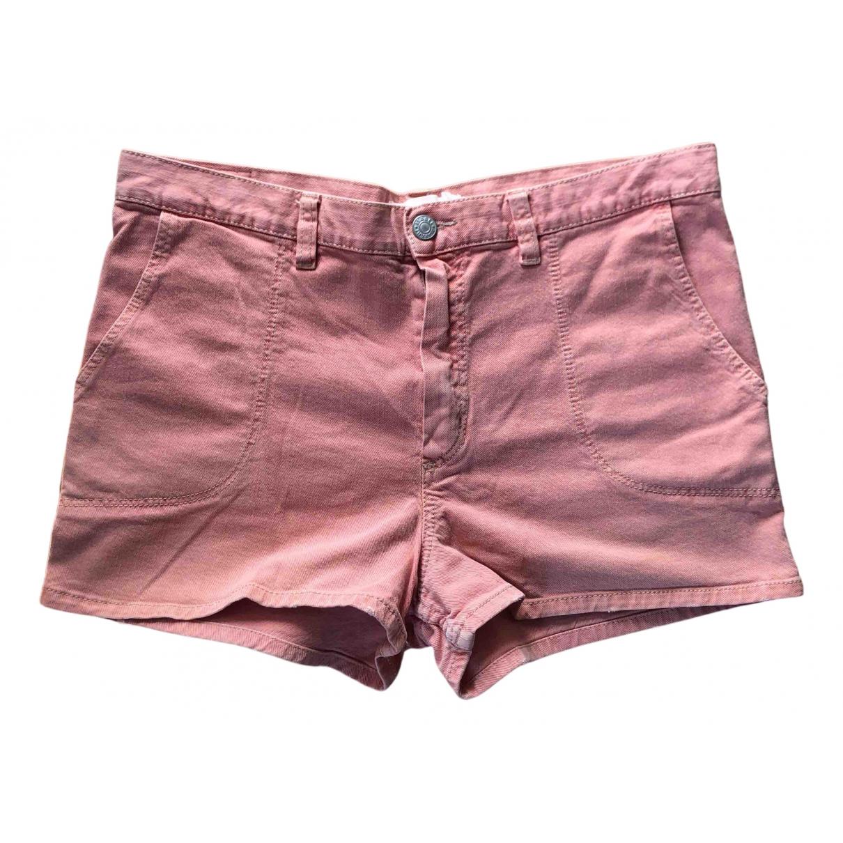 Isabel Marant Etoile N Pink Denim - Jeans Shorts for Women 38 FR
