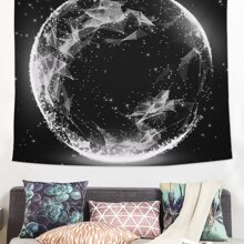 Moon Print Tapestry