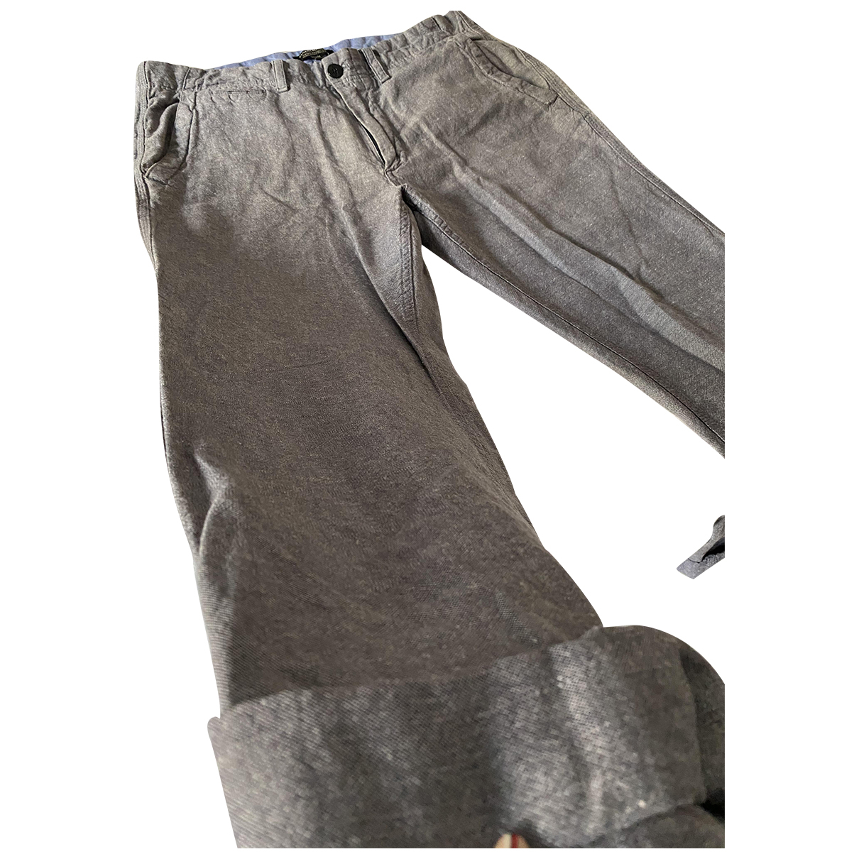 Banana Republic \N Shorts in  Grau Leinen