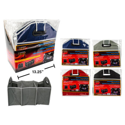 Foldable Trunk Organizer, Travel Storage Container, 20.75x12.5x12.5