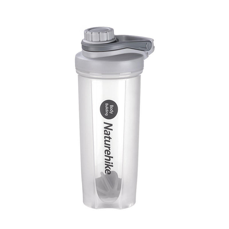 Naturehike 700ml Fitness Protein Powder Cup Food Grade PP Water Cup Outdoor Sports Water Bottle