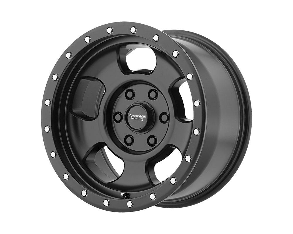 American Racing AR969 Ansen Offroad Wheel 16x8 6x6x139.7 +0mm Satin Black