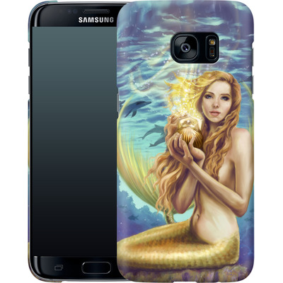 Samsung Galaxy S7 Edge Smartphone Huelle - Selina Fenech - Holding Magic von TATE and CO
