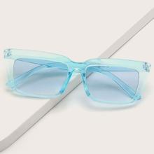 Sonnenbrille mit Rahmen aus Acryl