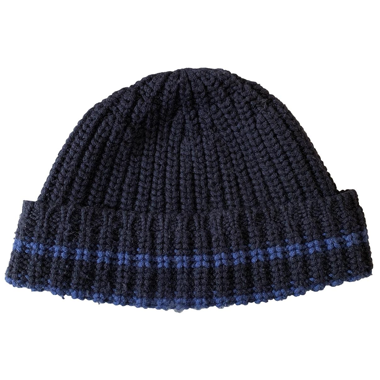 - Chapeau & Bonnets   pour homme en laine - bleu