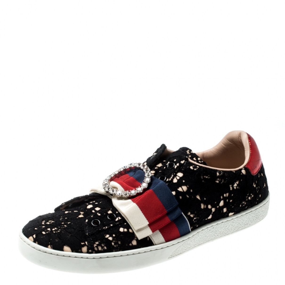 Gucci \N Leather Flats for Women 8 US