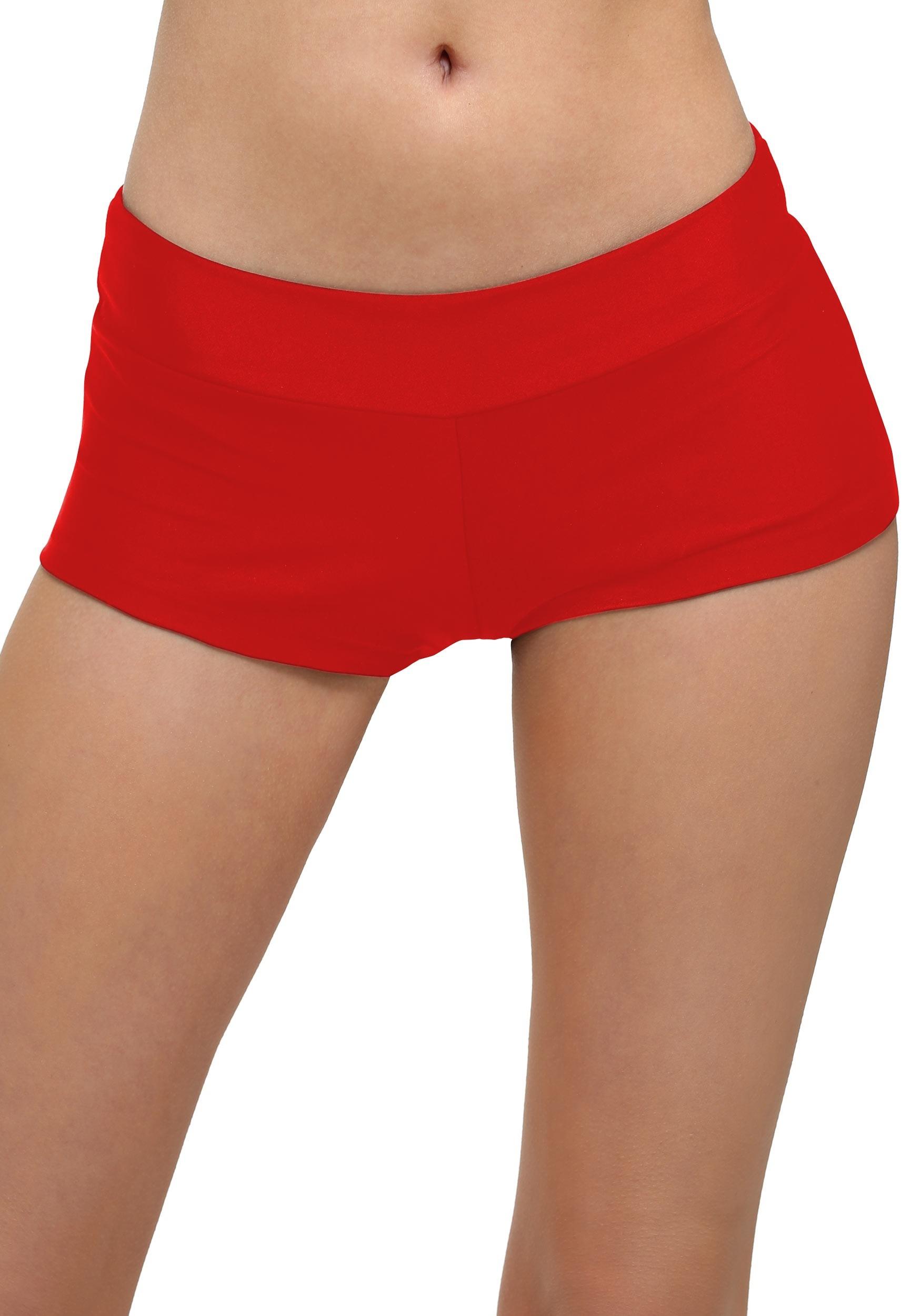 Women's Deluxe Red Hot Pants