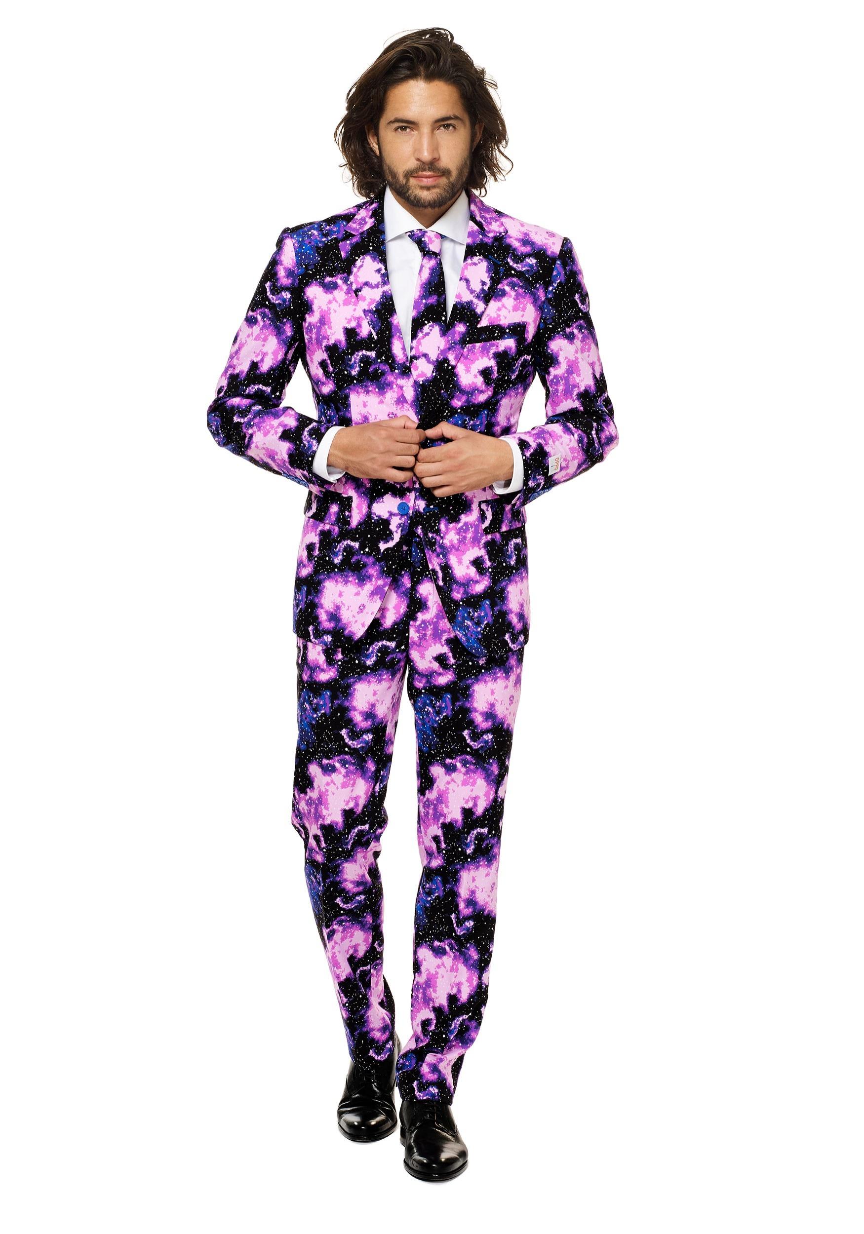 Opposuits Men's Galaxy Guy Suit Costume
