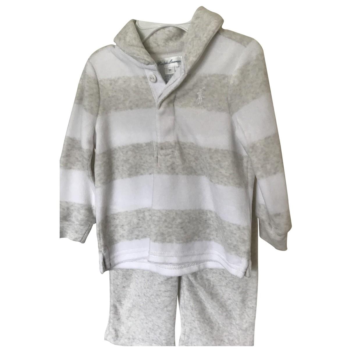 Ralph Lauren - Les ensembles   pour enfant en coton - gris