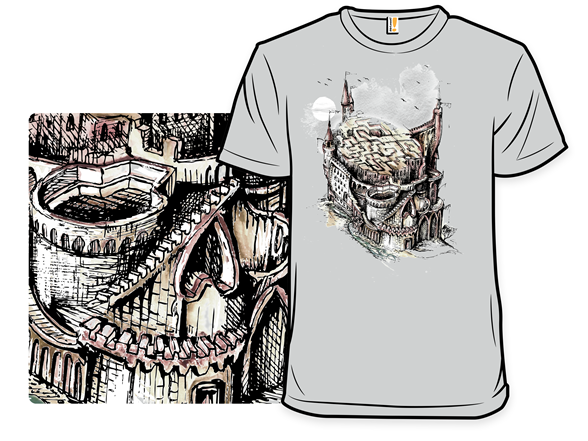 Castle Of Doom, Fortress Of Woe T Shirt