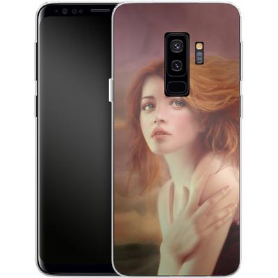 Samsung Galaxy S9 Plus Silikon Handyhuelle - Melanie Delon - Hope von TATE and CO