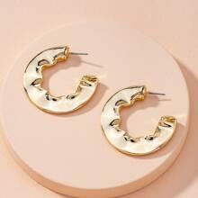 Irregular Cuff Hoop Earrings