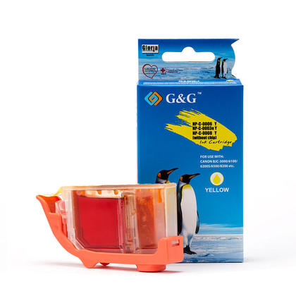 Compatible Canon BCI-3eY - BCI-3e Yellow Ink Cartridge - G&G
