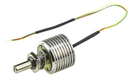 Vishay 1 Gang Rotary Cermet Potentiometer with an 6 mm Dia. Shaft - 470Ω, ±20%, 6W Power Rating, Linear, Panel Mount