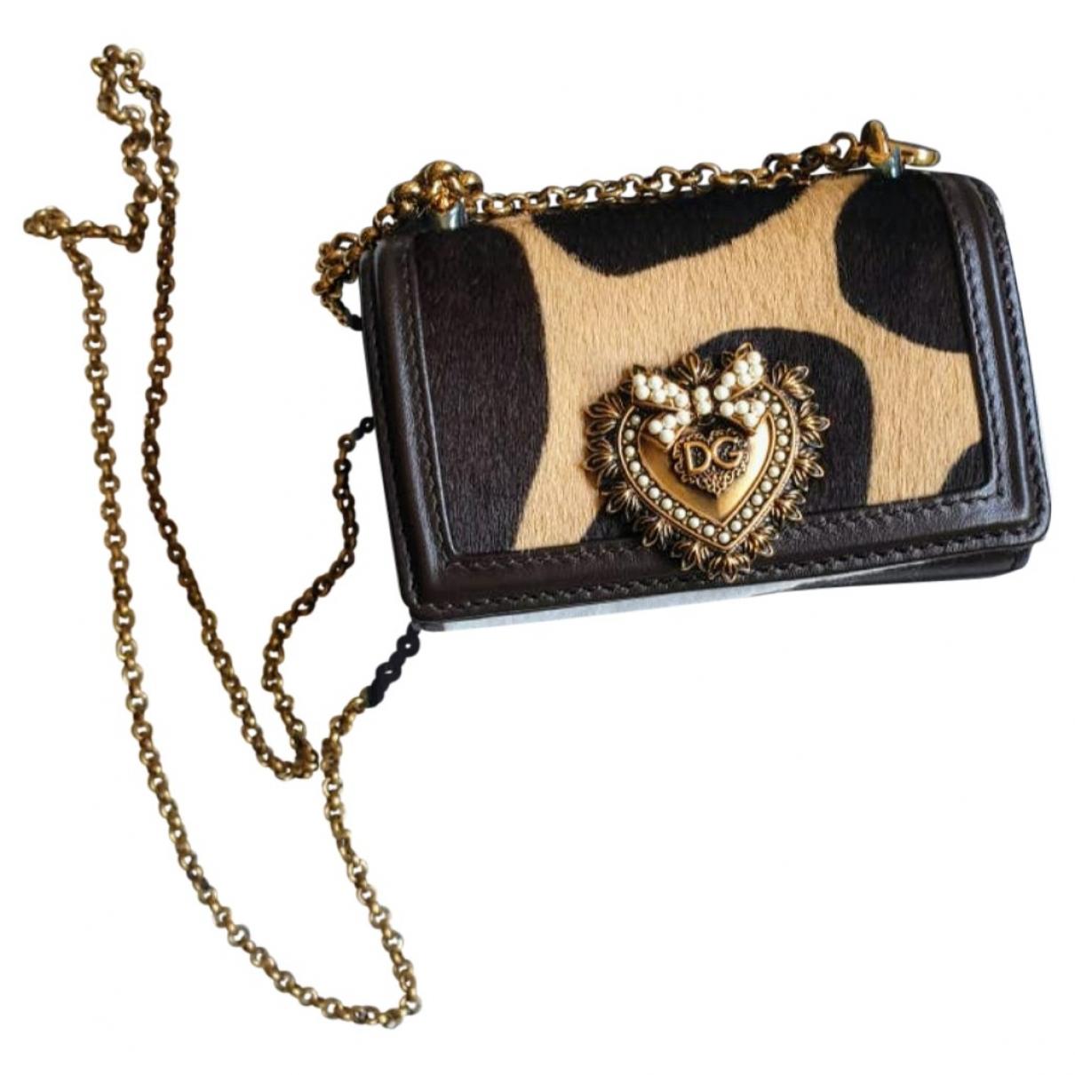 Dolce & Gabbana Devotion Multicolour Pony-style calfskin handbag for Women \N