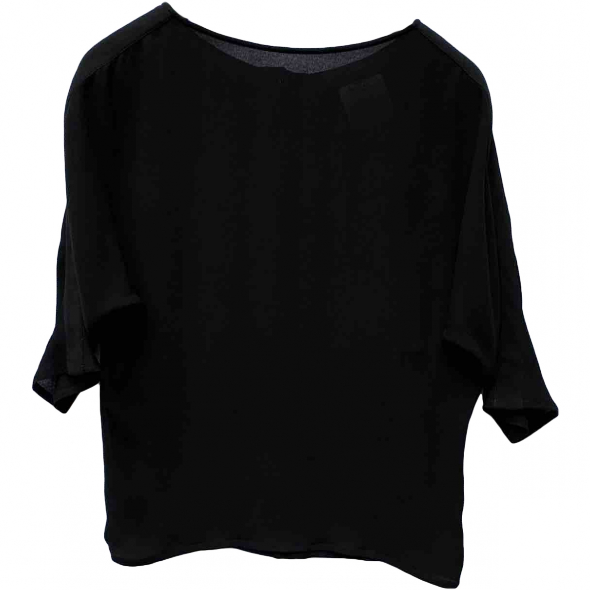 Versace \N Black Silk  top for Women S International
